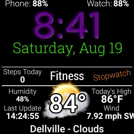Weather-Fitness-Calendar-Battery
