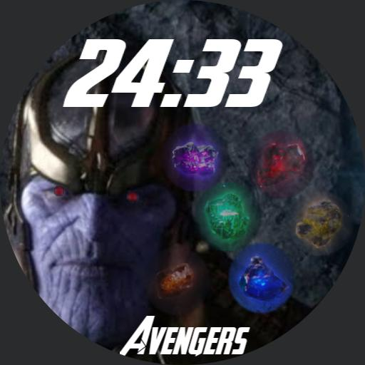 Thanos gems Round