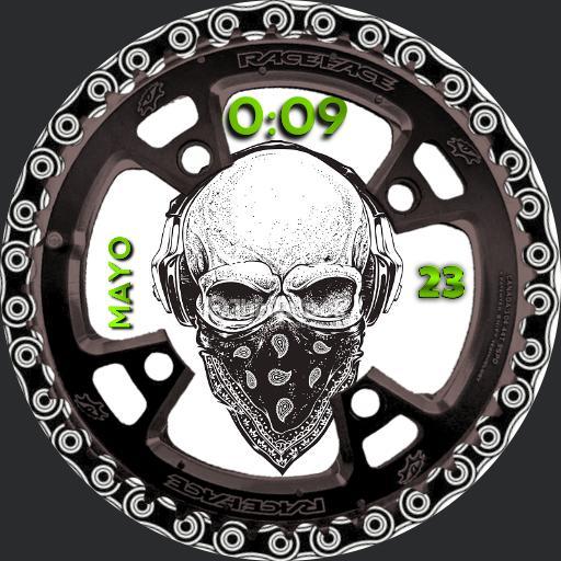 skull watch Copy