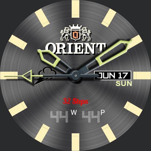 Orient Military Grey 3