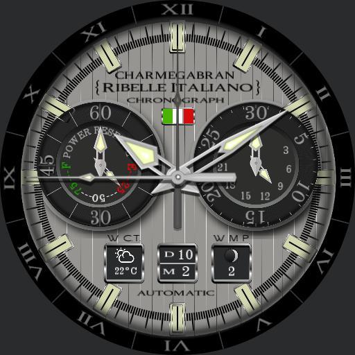 CHARMEGABRAN, Ribelle Italiano