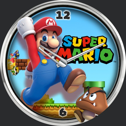 Mario Fanboy Watch Face