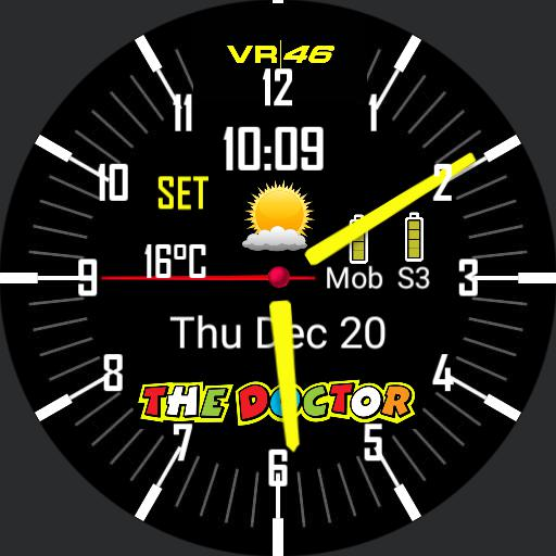 Valentino dual time zone