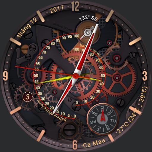 tic watch 2 red