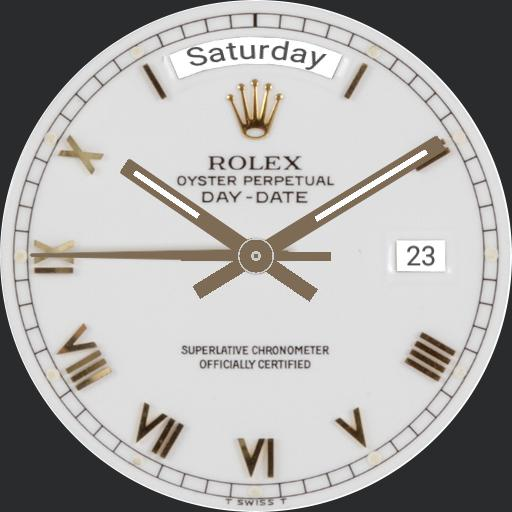 R0L3X Oyster Perpetual Day-Date Watch