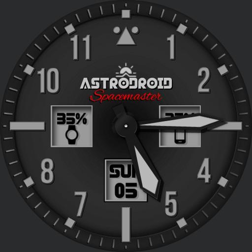 Astrodroid - Spacemaster 2017