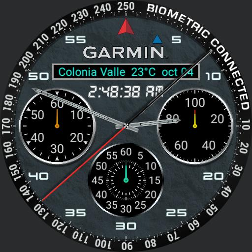 BIOMETRIC GARMIN CONNECTED full info