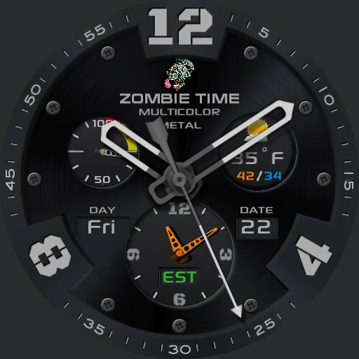 ZOMBIE TIME 5-colour METALLC II
