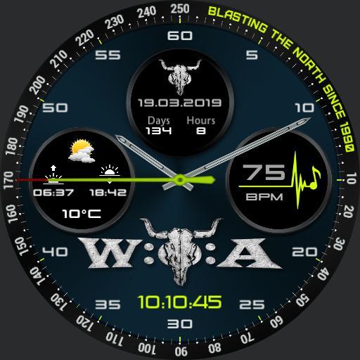 Wacken Countdown Chrono