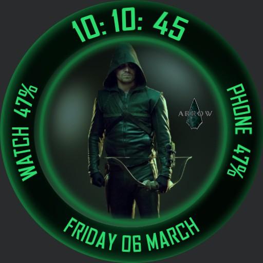 Green Arrow tribute digital.