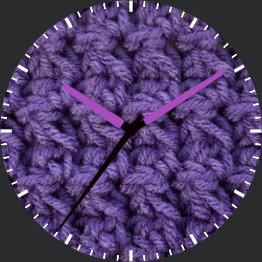Crochet Purple