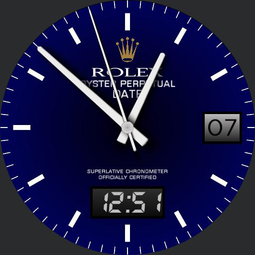 Oyster Perpetual Royal Blue