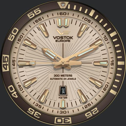 Vostok Rocket Gold V1.1