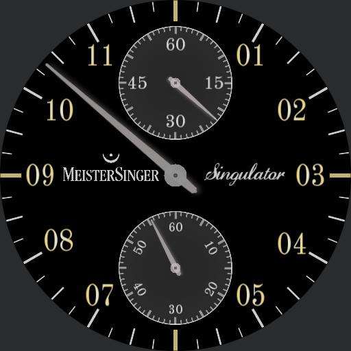 MeisterSinger base on Singulator v5