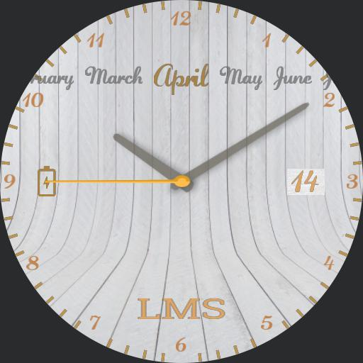 LMS - Wood Elegance white
