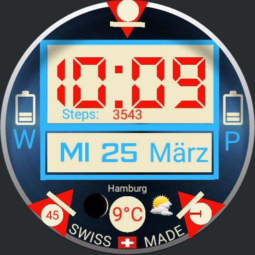 Swiss made digital