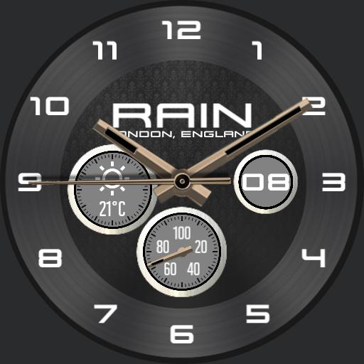Rain, Midnight Grey V3