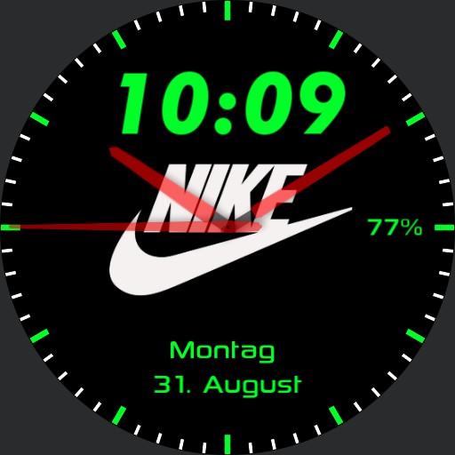 Green/White/Black Nike Digit Copy