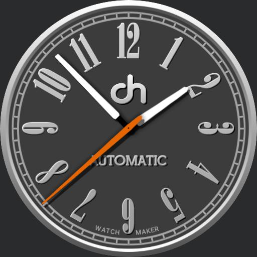 Dark Hero Standard Watchface