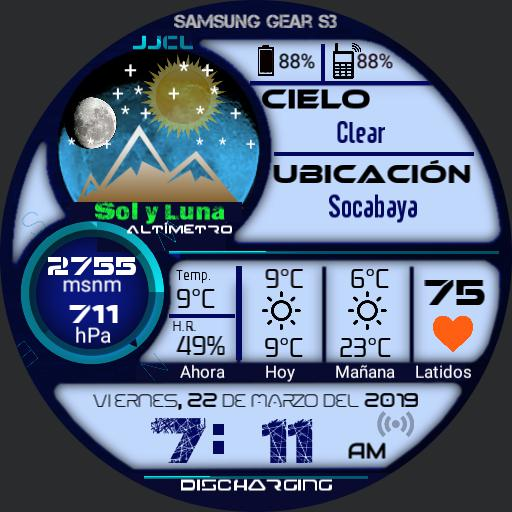 Fox Pro 07 Weather Altimeter