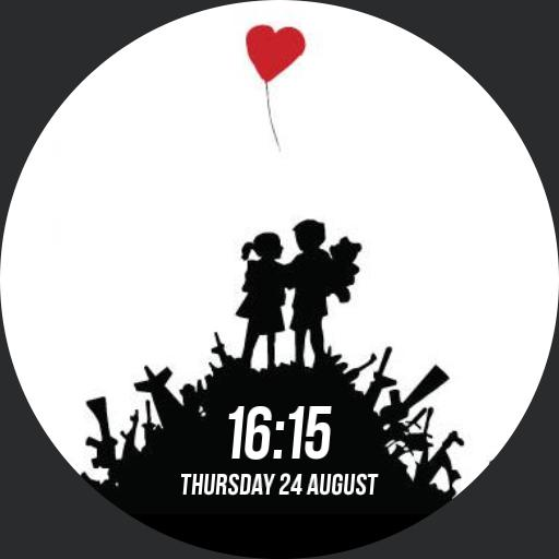 Banksy Bombsite Love