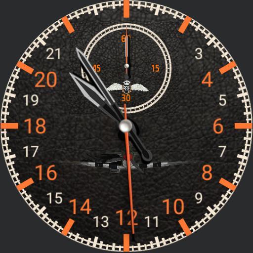 Spitfire Cockpit watch