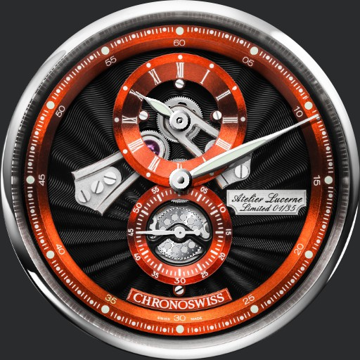Chronoswiss Regulator Open Gear Anniversary Edition