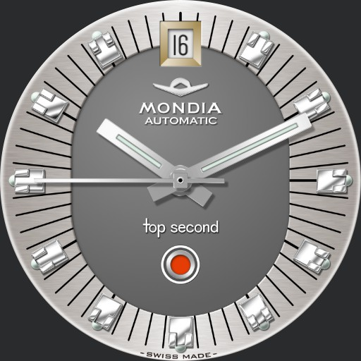 Mondia Top Second Automatic C. Late 60s