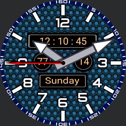 My watch blue