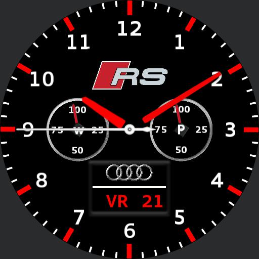 audi rs watch