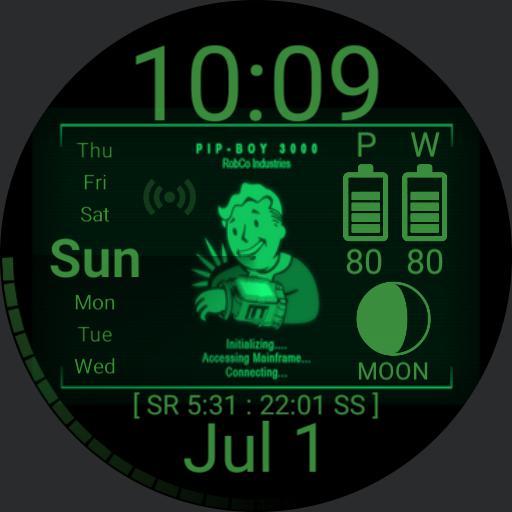 Pipboy v1 solar data