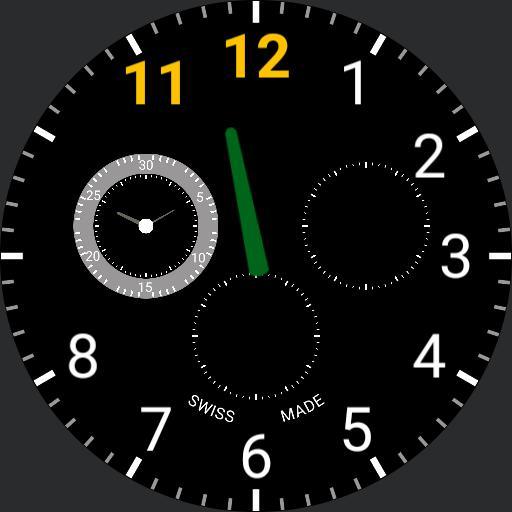 Luminox watch prototype