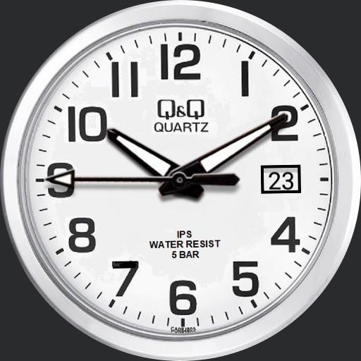 QQ Quartz Watch