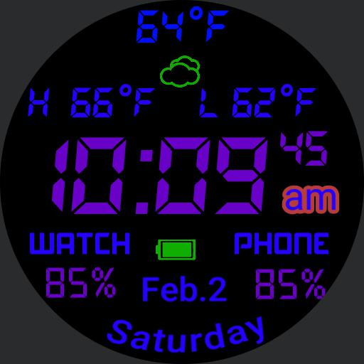 colorful weather battery status Copy