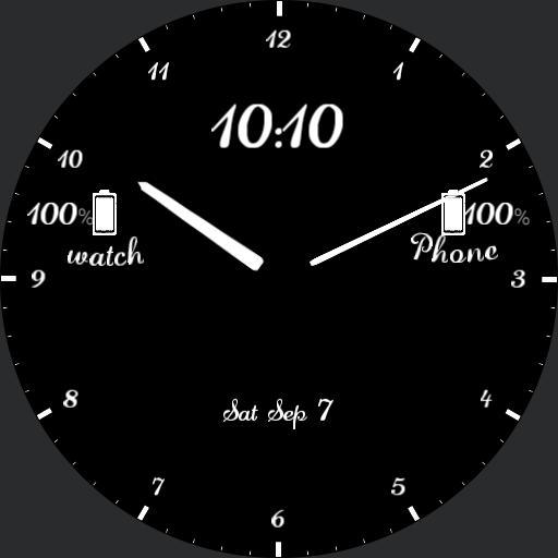 Obel simple watchface