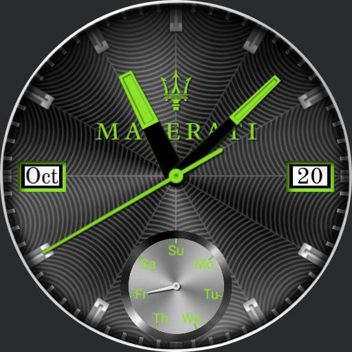 Maserati Concept Watch Ucolor