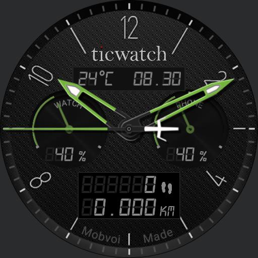Ticwatch W1 Green