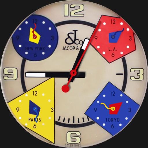 Jacob & Co - 5 Timezones
