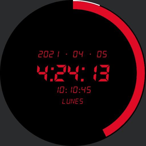 Temporario Decimal Time Watch