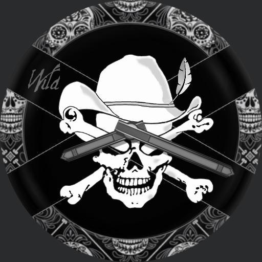 Cowboy Skull Color
