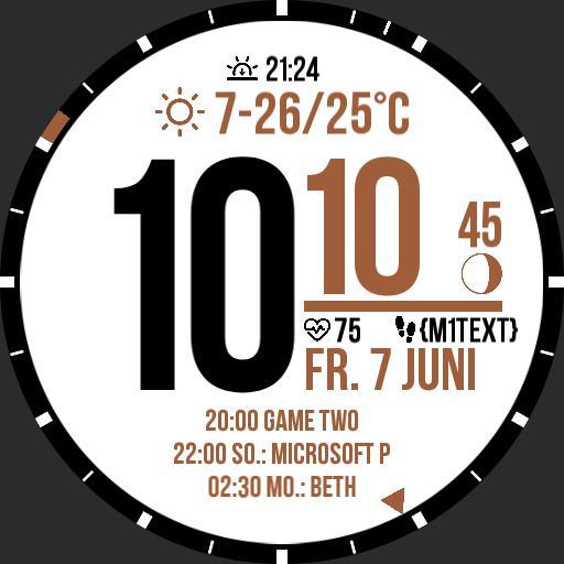 Calendar Digital Watch