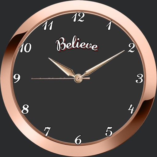rose gold believe