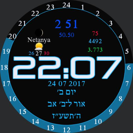 Hebrew Watch Ber Copy