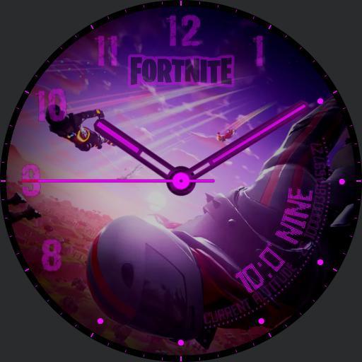 Gamer watch face