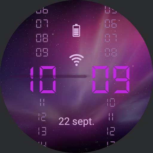 Futuristic watch