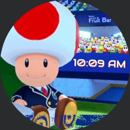 Super Mario Toad animated