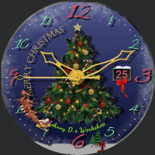 Merry Christmas Animated watch  rc2