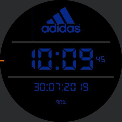 Adidas watch sport blue