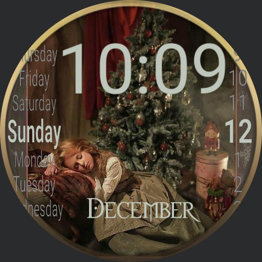 After Christmas Nap or Waiting for Santa