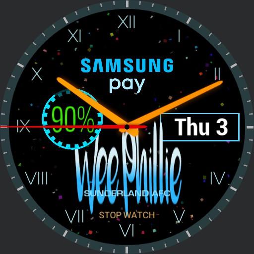 Samsung 2018 BLUE
